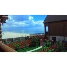 Берег моря, снять элитный таунхаус на пляже, Евпатория, Крым. Цена отдыха 2017 от 12000 рублей