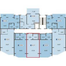 Недвижимость в Евпатории, Крым купить квартира у моря 44,7 м.кв. - цена 65 000 м.кв.