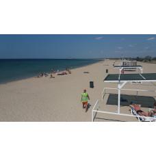 Купить земельный участок у моря в Евпатории - Заозерное, Песчанка, с пляжем