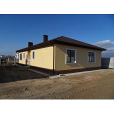 Купить дом с участком в Евпатории у моря Заозерное, Лимановка, новой постройки