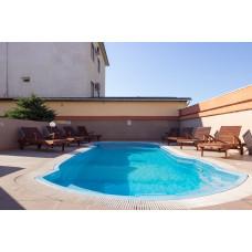Снять 2ком. квартиру в гостевом доме для отдыха с бассейном в Евпатории у моря