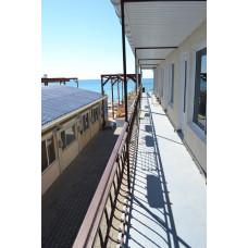 Снять жилье у моря - эллинги Корсар в Евпатории на Симферопольской 2мест. номера