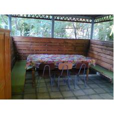 Евпатория снять 3ком дом 150 м. к морю, дворик, беседка в частном секторе